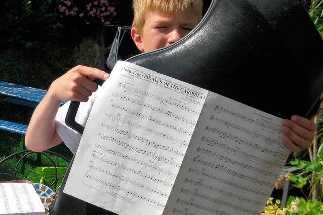 Projektorchester mit 100 Jugendlichen gibt in Schmieheim ein Konzert