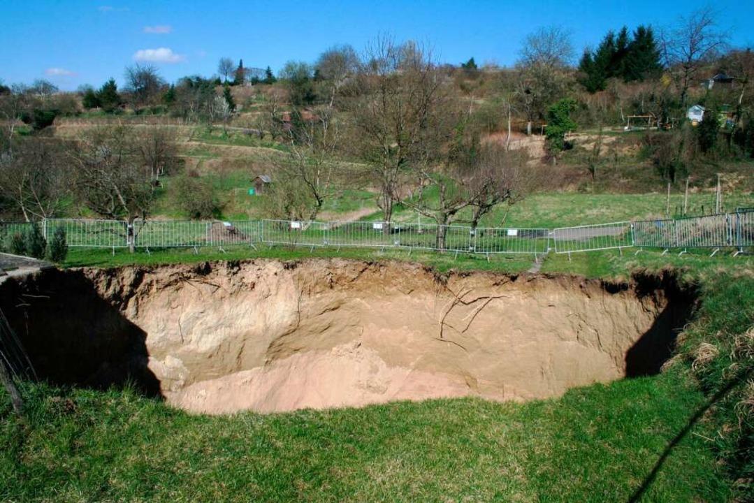 Das Loch im Kahlenberg    Foto: Landratsamt Emmendingen