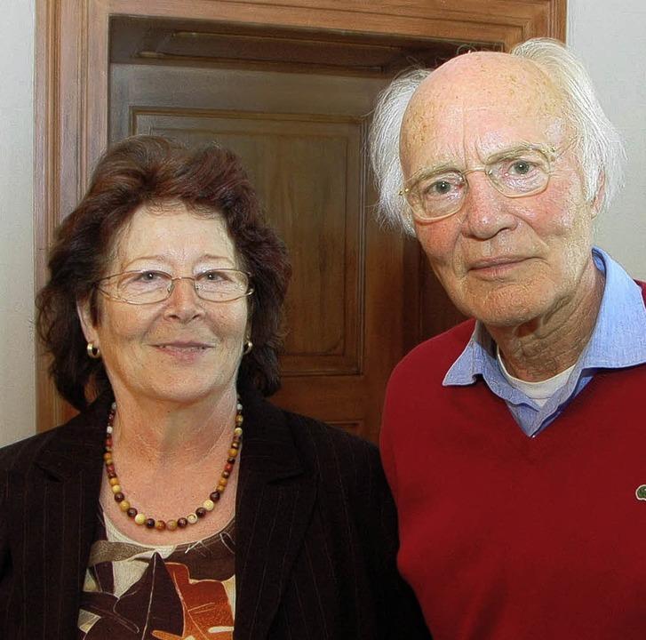 Marianne Kipf  und Franz-Josef Große-Ruyken engagieren sich für Senioren.   | Foto: Anja Bochtler