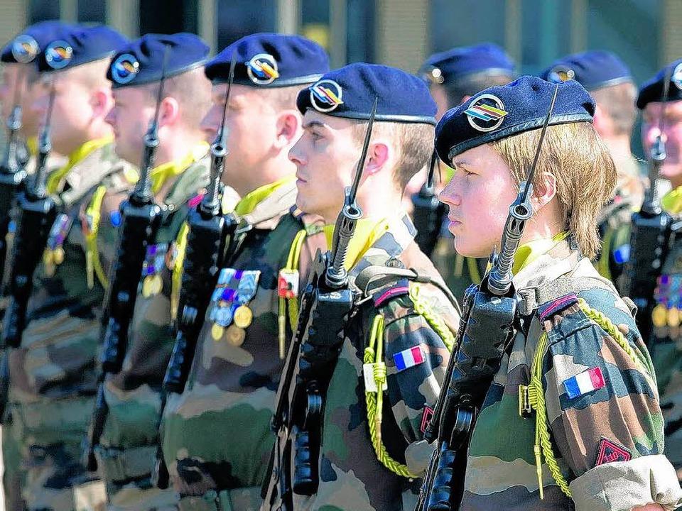 Die Deutsch-Französischen Brigade.  | Foto: sk