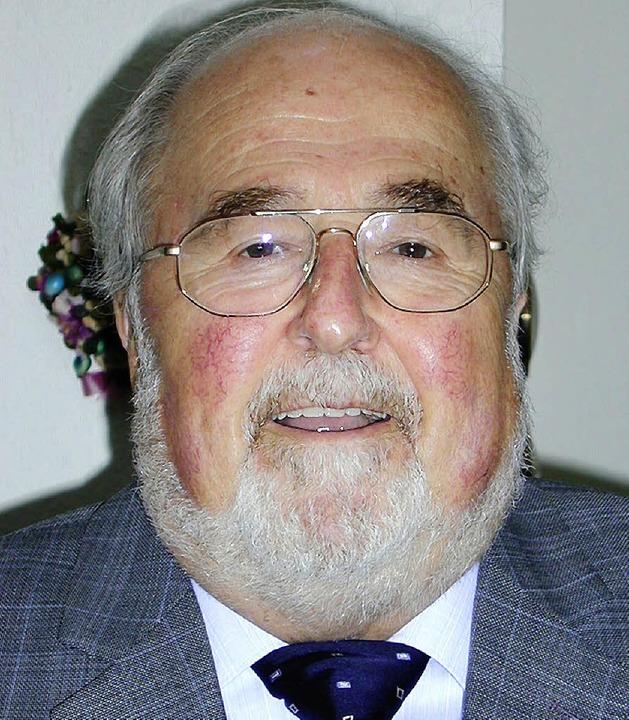 Feiert seinen 80. Geburtstag: Paul Nunnenmacher     Foto: M. Burkert