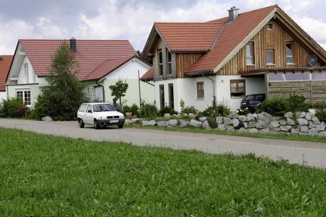 Grundstücke werden billiger