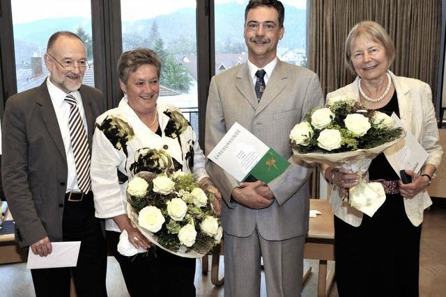 Ehrennadeln für langjährige Räte
