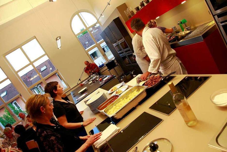 Im Kochstudio  des Lahrer BBZ. (Foto: Christian Kramberg)