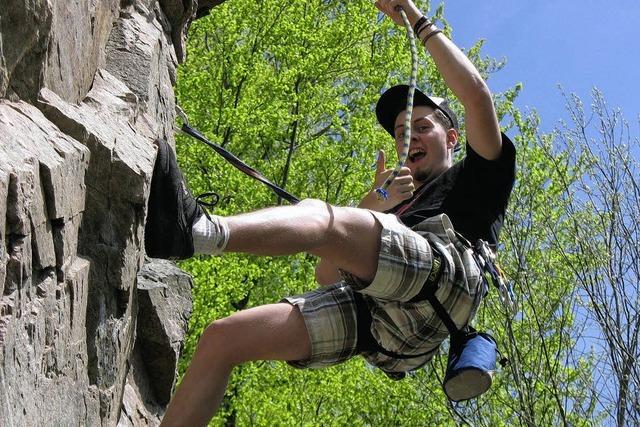 Klettern mit Adrenalin-Kick