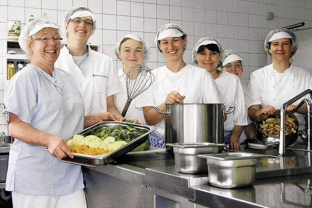 Ein Küchenteam, das andere gerne mal besuchen
