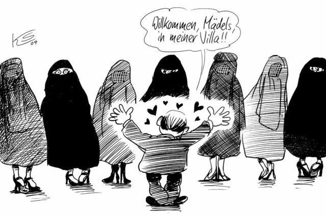 Wie Berlusconi die Paparazzi ausschaltet. Oder: Die Burka bald Pflicht in ganz Italien?!
