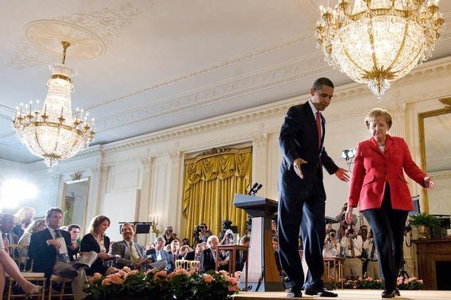 Obama und Merkel bleiben vage