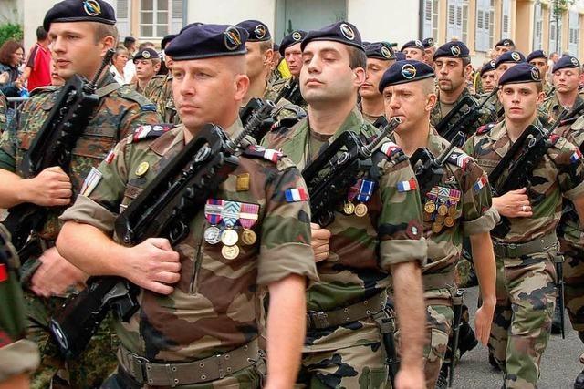 Marsch der Brigade verläuft friedlich