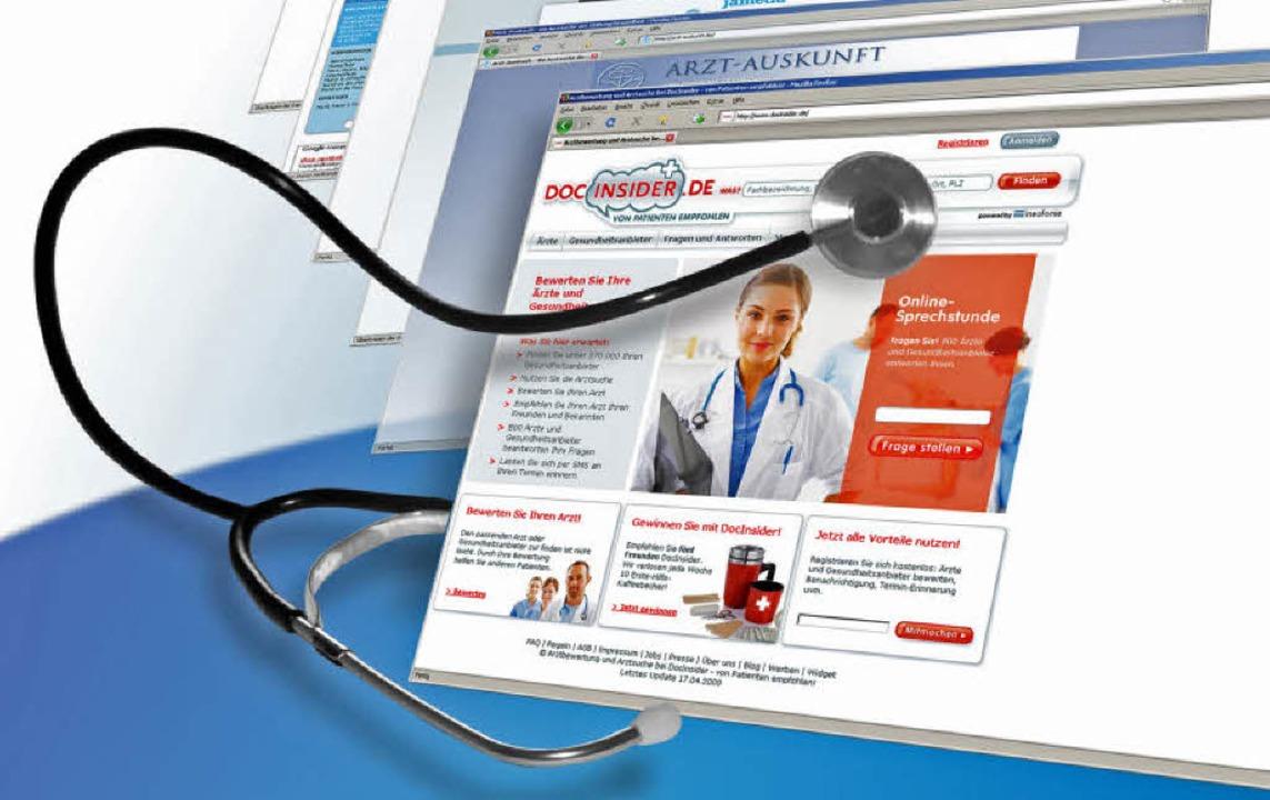 Für viele eine gute Geschäftsidee: Meh...ewertungsportale  locken im Internet.   | Foto: dpa