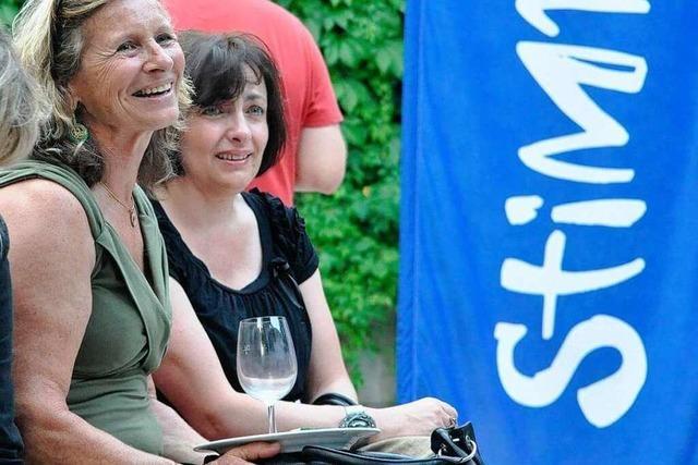 Fotos: Die Eröffnung des Stimmenfestivals in Lörrach