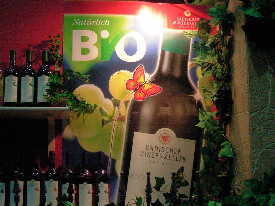 Der Badische Winzerkeller gehört zu den größten Bioweinerzeugern in Deutschland.  | Foto: Gerold Zink
