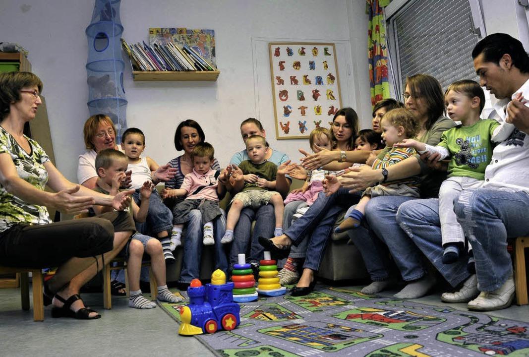 Volles Haus gibt es zum Beispiel bei d...reffs im Mütter- und Familienzentrum.   | Foto: Thomas Kunz