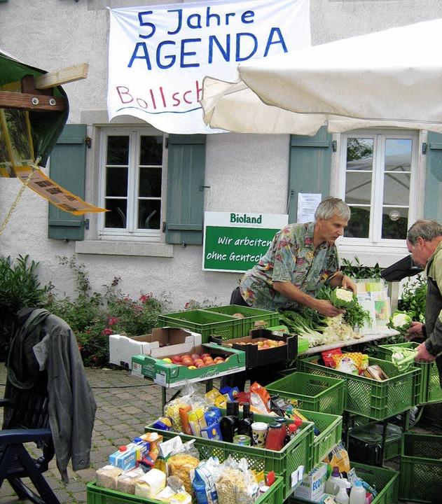 In Bollschweil gibt es seit einiger Ze...jährigen Bestehen der Agenda-Gruppe.    | Foto: BZ-Archiv/FREYER