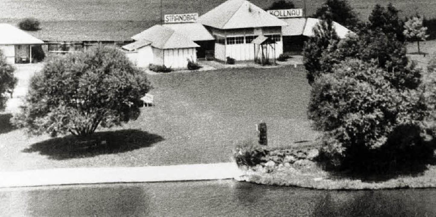 <Bildtext>Am 3. Juni 1933 wurde das ne...wehr in Betrieb genommen.  </Bildtext>  | Foto: Repro: Eberhard Weiss