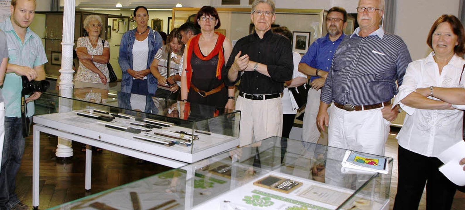 Eine Ausstellung zur Erinnerung an die...Museum im  Stadtpark eröffnet worden.   | Foto: heidi fössel