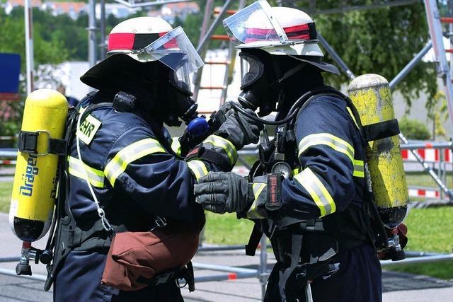 Leistungsstufe Gold: Lörracher Feuerwehrleute top