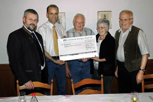 Spenden für St. Sebastian