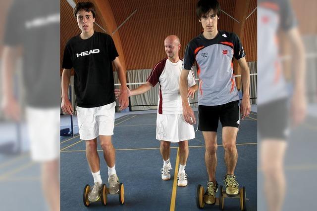 Skispringer hilft Tennistalent