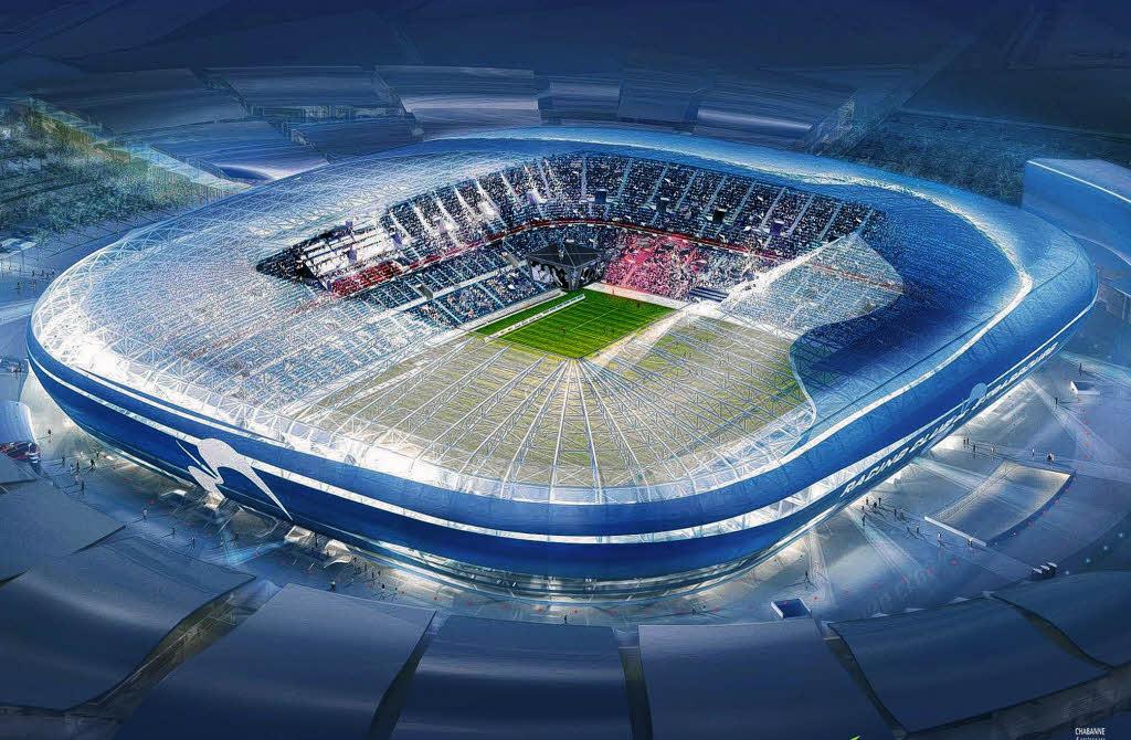 FuГџball Stadion