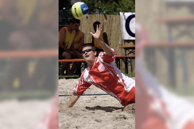 Sonne, Sand, Spaß und viel Schweiß