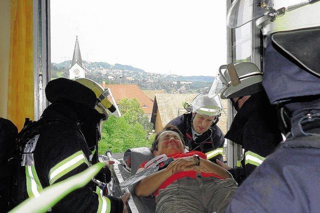 Wenn 42 Bewohner gerettet werden müssen . . .