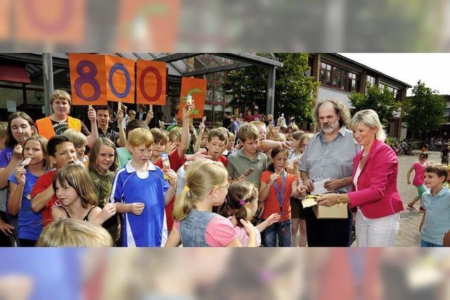 Ruster Schüler bewegen Zuschauer zu Spenden