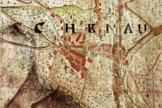 Erstaunlich präzise: Die Karte der Vogtei