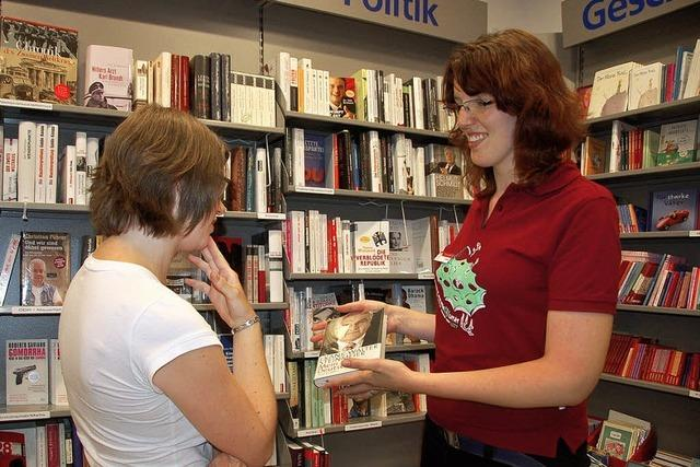 Buchhändler für einen Tag