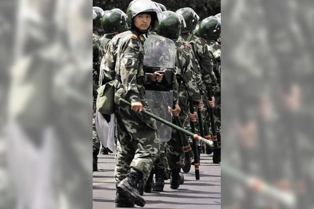 China antwortet mit dem Schlagstock
