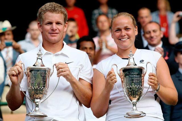 Anna-Lena Grönefeld gewinnt Mixed-Titel in Wimbledon