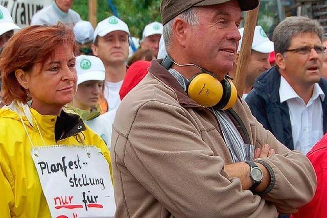 Bürger blockieren erneut Bahn-Gespräch