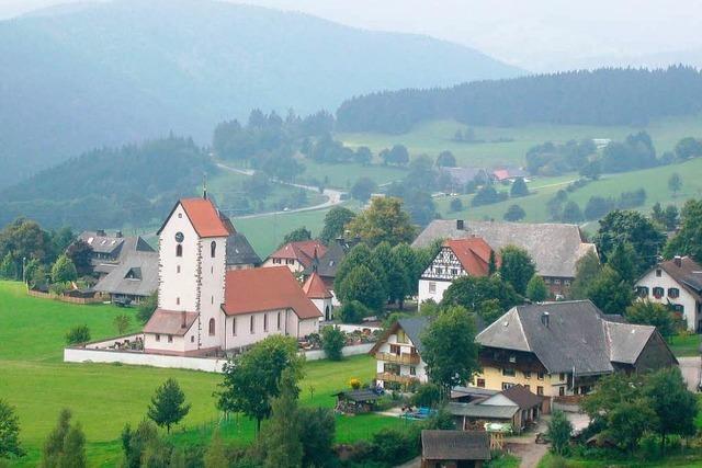 Das schönste Dorf im Kreis heißt Saig