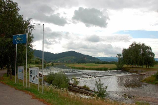 Wasserkraftwerk im Offenburger Naherholungsgebiet