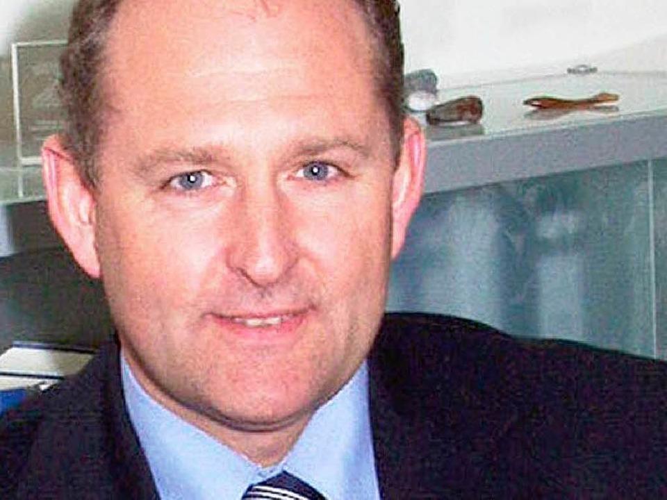Der Kaufmännische Direktor der Uniklinik: Frank Wertheimer   | Foto: BZ