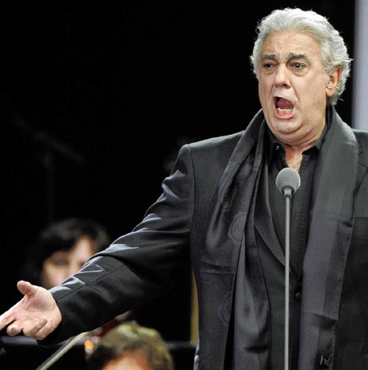 Ausnahmesänger Plácido Domingo  | Foto: dpa