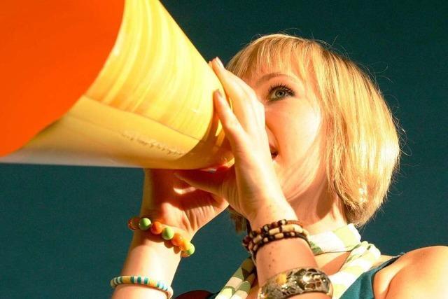 Der Schrei bei den Stimmen in Lörrach