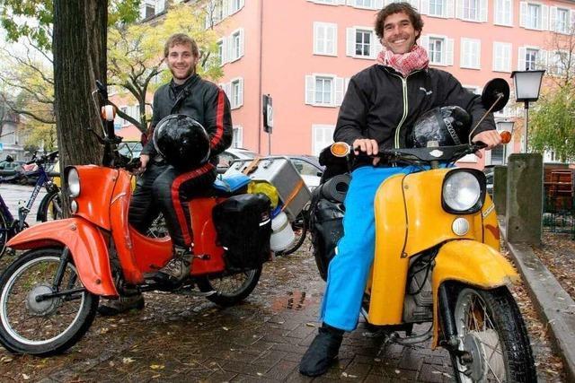 Zwei Schwalben auf dem Weg nach Marrakesch