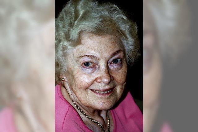 Anna Berlep wird am Sonntag 80 Jahre alt