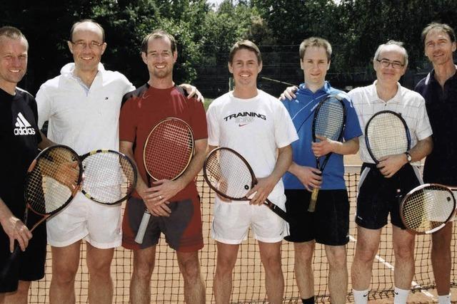 Herren 30 spielen künftig in der 1. Bezirksliga