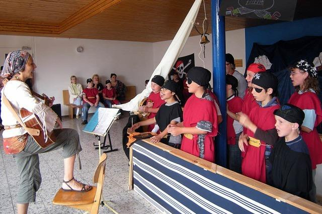 Piraten entern Santa Fridolina