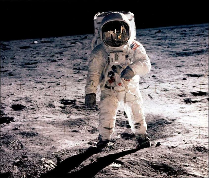 Vor 40 Jahren betrat der Mensch den Mond.  | Foto: ImageForum