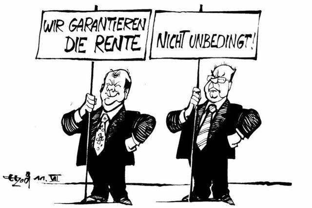 Gemeinsame Haltung in der SPD