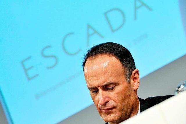 Escada bereitet sich auf mögliche Insolvenz vor