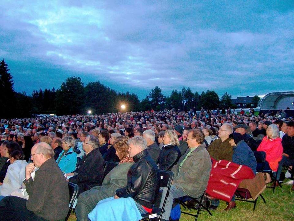 Nahezu 1500 Besucher hat der Veranstalter gezählt.     Foto: Karla Scherer