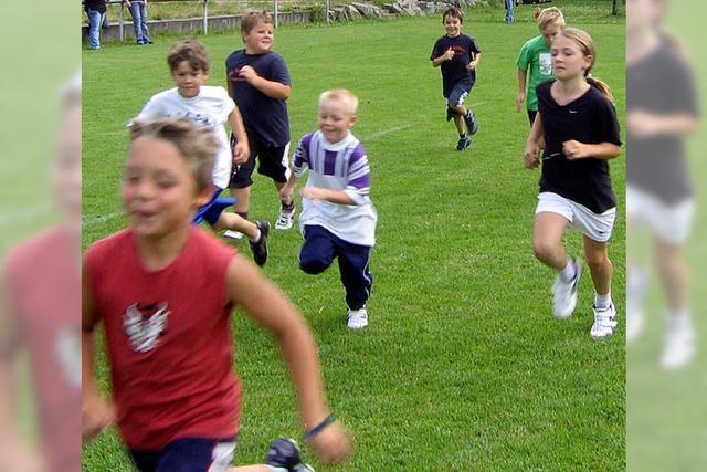 Rennen für die Jugendkasse