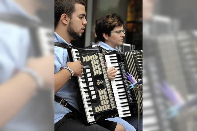 Mamma mia, Musicalmelodien und Märsche
