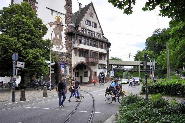 Wie aus der Schlossbergstraße eine Hauptverkehrsader wurde