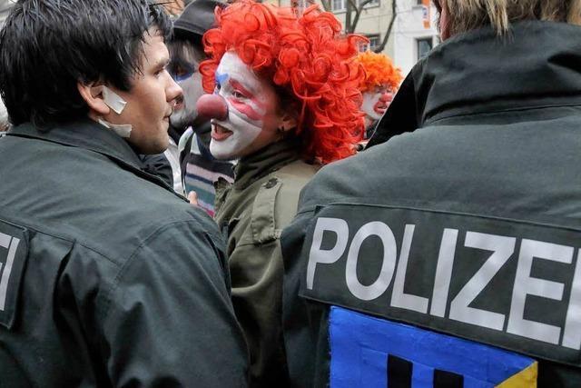 Unangemeldete Demos haben in Freiburg Tradition