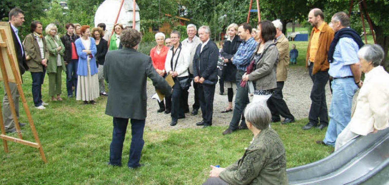 Viele Gäste ließen sich beim geführten...n der Kaltenbachstiftung informieren.   | Foto: Johanna Högg